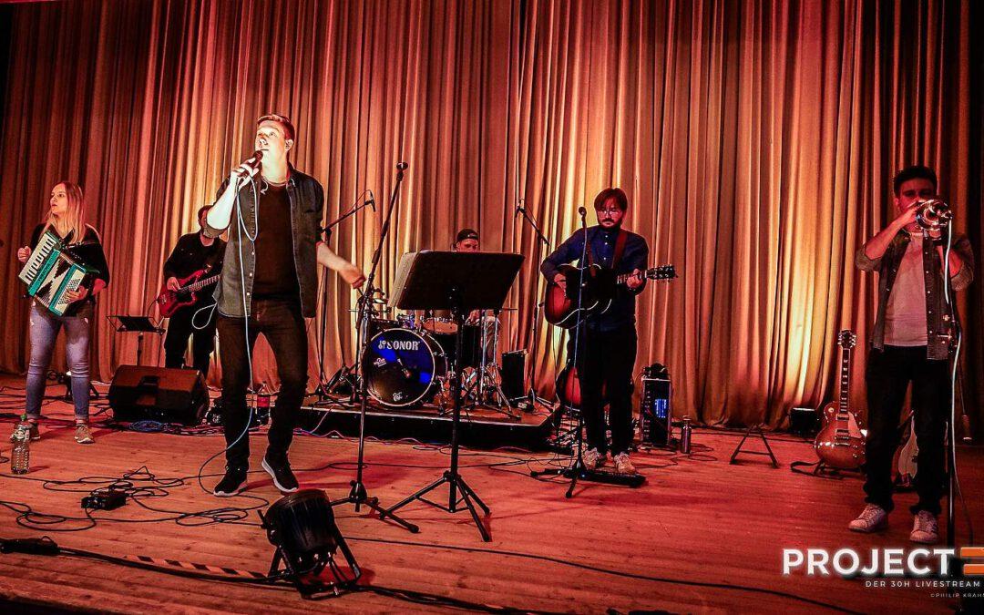 "TICK2LOUD zu Gast bei Streaming Event ""Project F"""